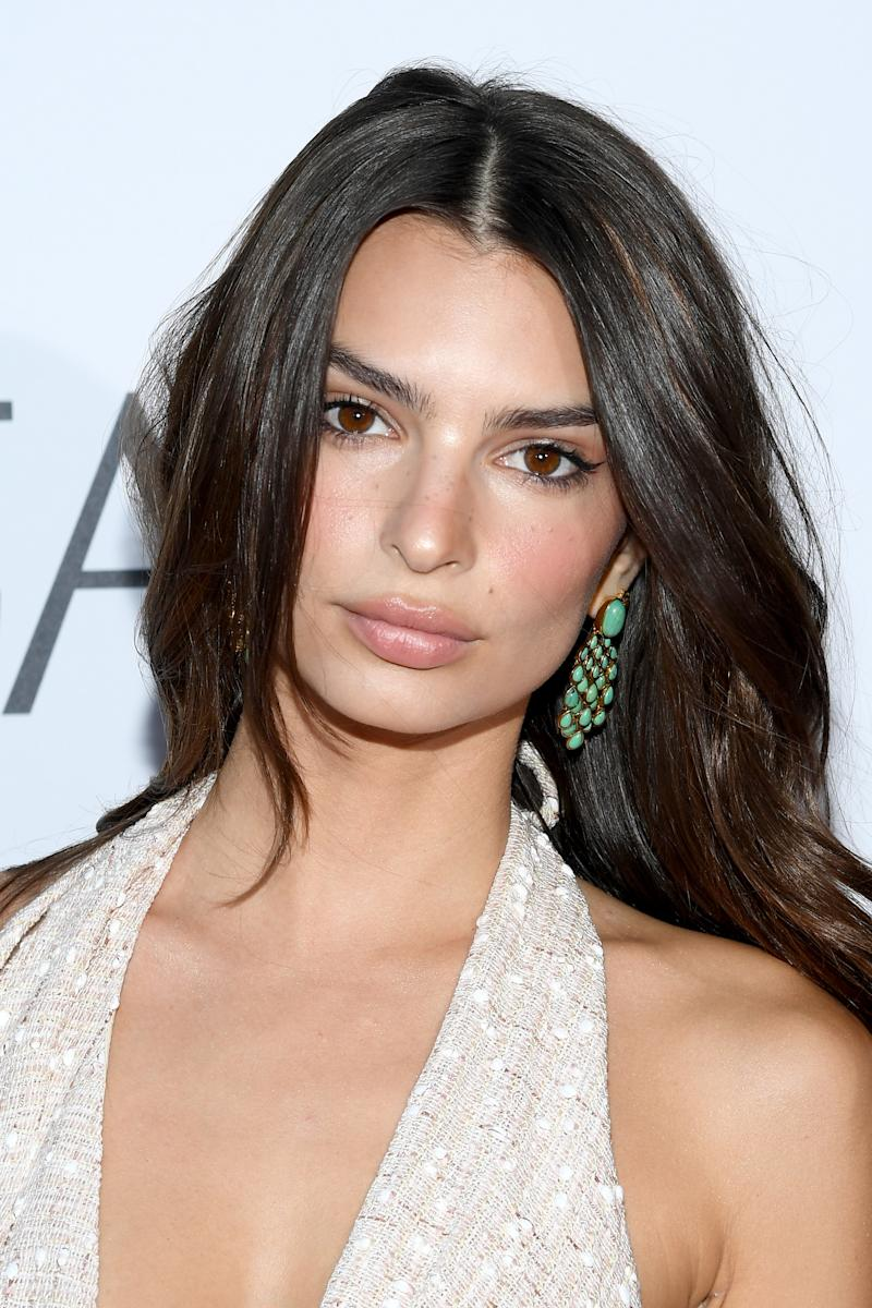 PARIS, FRANCE - JUNE 26: Emily Ratajkowski attends the Kerastase Party at Port Debilly on June 26, 2019 in Paris, France. (Photo by Pascal Le Segretain/Getty Images)