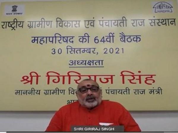 Union Minister Giriraj Singh launches Hindi website of NIRDPR, Kaushal Aapti 2.0 app for empowerment of rural youth
