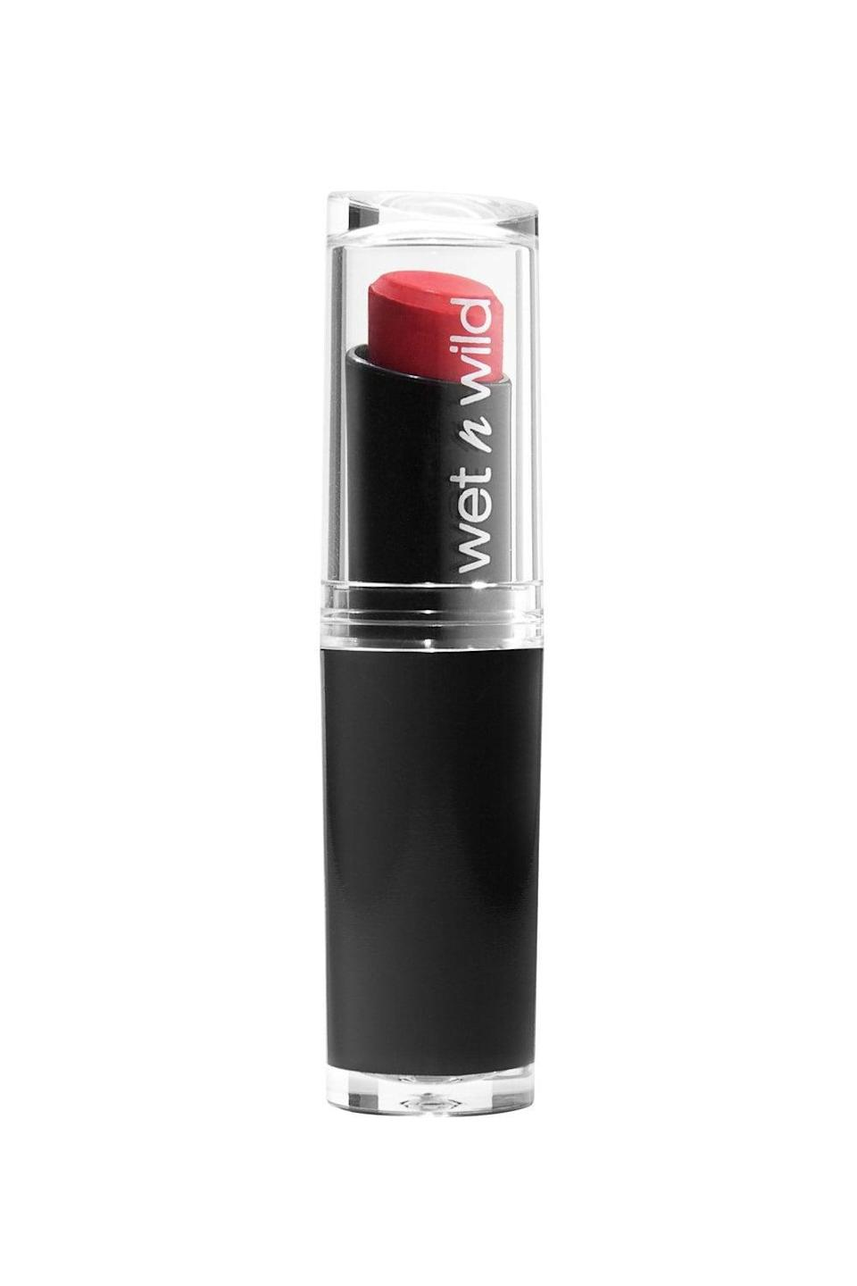 <p>If you love the colors and long wear time of MAC lipsticks but can't convince yourself to shell out $17, check out these affordable <span>Wet N Wild MegaLast Lip Colors</span> ($6). The colors Red Velvet and Sugar Plum Fairy are close dupes for popular MAC lipsticks like Ruby Woo and Rebel. In addition to their range of popular colors, these lipsticks include natural enzymes in their formula that hydrate your lips.</p>