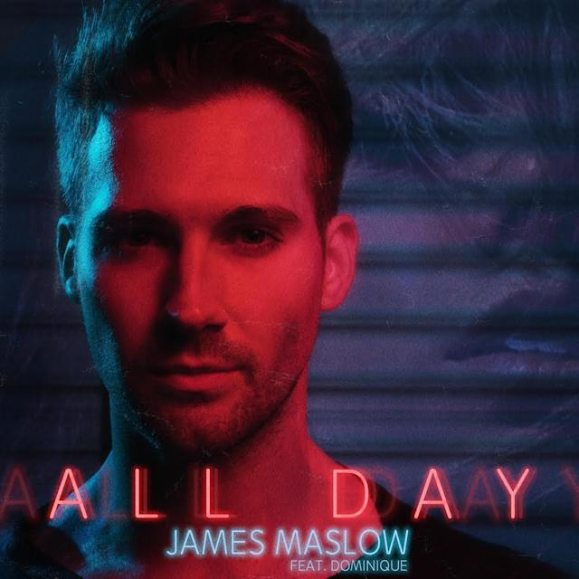 "James Maslow's ""All Day"" single cover."