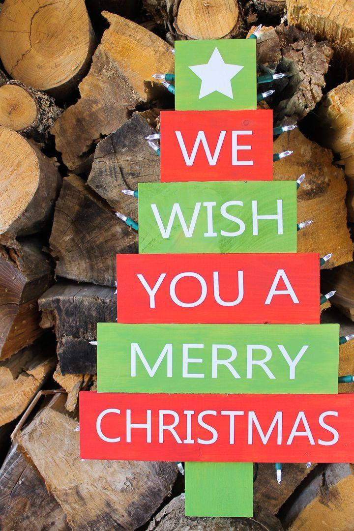 """<p>If you can't spare the time to craft your pallet wood tree from scratch, this is the project for you. It features not only a premade tree but also a free cut file that will have you creating a cheery looking Christmas sign for your yard in no time flat.</p><p><strong>Get the tutorial at <a href=""""https://www.thecountrychiccottage.net/christmas-tree-svg/"""" rel=""""nofollow noopener"""" target=""""_blank"""" data-ylk=""""slk:The Country Chic Cottage"""" class=""""link rapid-noclick-resp"""">The Country Chic Cottage</a>.</strong></p><p><a class=""""link rapid-noclick-resp"""" href=""""https://www.amazon.com/VARSK-Upholstery-Decoration-Carpentry-Furniture/dp/B08BCCTDGF/ref=sr_1_2_sspa?tag=syn-yahoo-20&ascsubtag=%5Bartid%7C10050.g.23322271%5Bsrc%7Cyahoo-us"""" rel=""""nofollow noopener"""" target=""""_blank"""" data-ylk=""""slk:SHOP STAPLE GUNS"""">SHOP STAPLE GUNS</a><br></p>"""
