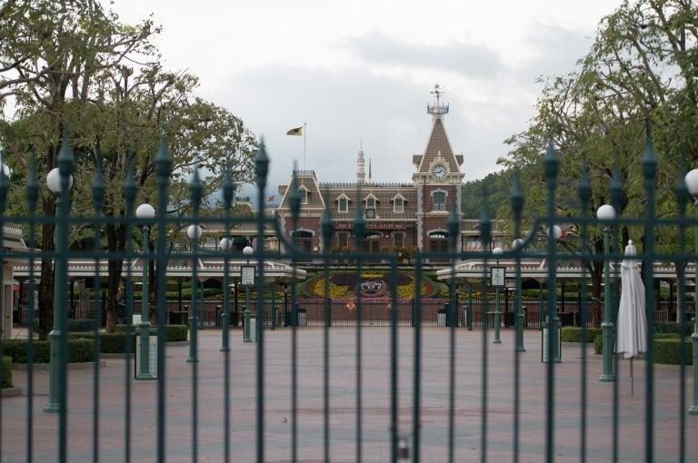 The park said it was taking the step to protect 'the health and safety of our guests and cast members', mirroring a similar move by Shanghai's Disneyland