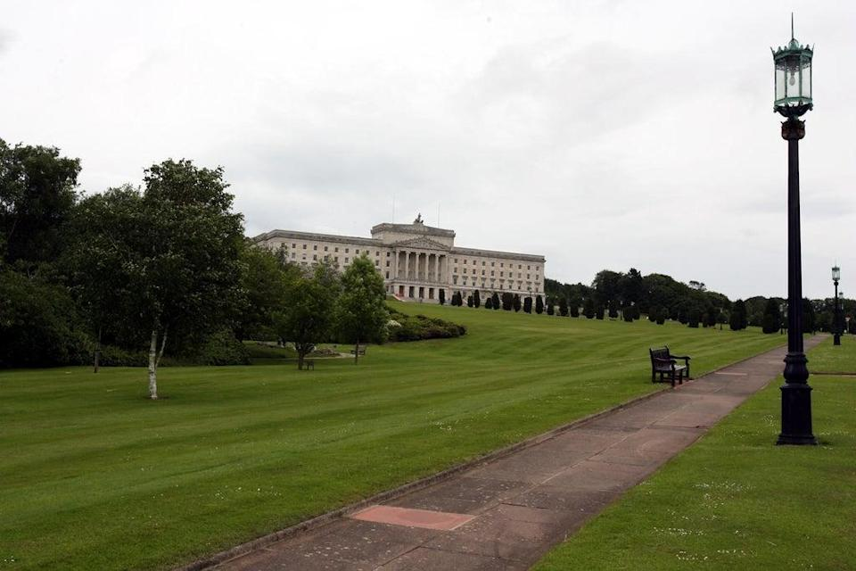 General View of Parliament Buildings at Stormont, Belfast (Paul Faith/PA) (PA Archive)