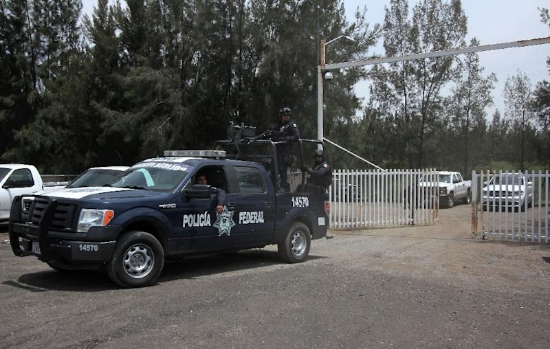 Michoacan is the scene of frequent violence between drug cartels fighting each other for control of trafficking routes (AFP Photo/Hector Guerrero)