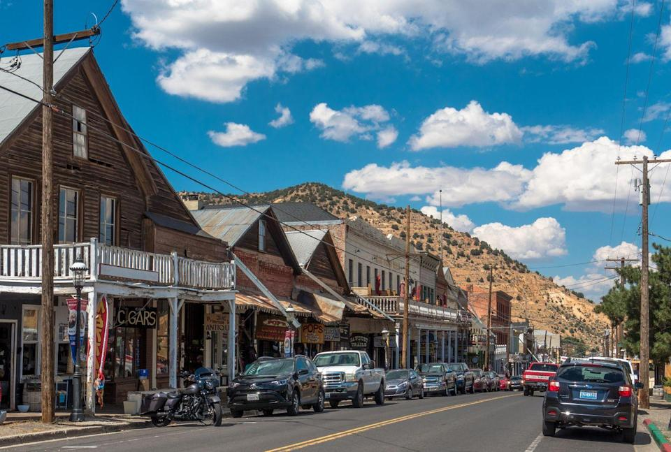 <p>Walking down Main Street in Virginia City, Nevada feels like you just stepped onto a Western movie set. </p>