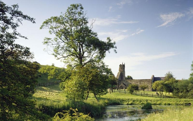 Wharram Percy today - Credit: Historic England/PA