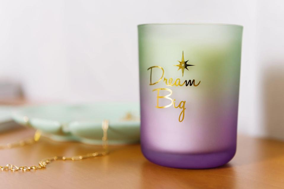 <p><strong>Candle:</strong> <span>Disney Princess X POPSUGAR Tiana Candle</span> ($13)</p> <p><strong>Scent:</strong> whipped vanilla, coconut, and rose</p> <p><strong>My review:</strong> This smells delicious, like baking freshly made pastries in the kitchen. It's sweet but not overwhelming, so you can use it often.</p>