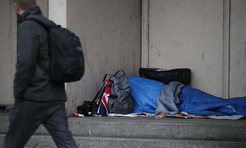 Homeless deaths in 2018 rise at highest level - ONS