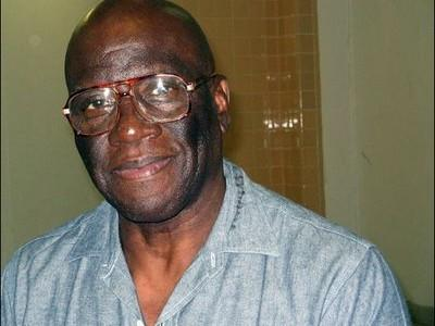 Undated image courtesy of Herman's House, shows Herman Wallace at the Louisiana State Penitentiary in Angola (AFP Photo/)