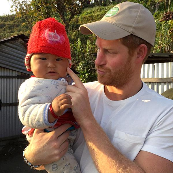 This Photo Of Prince Harry And A Chubby-Cheeked Baby Is