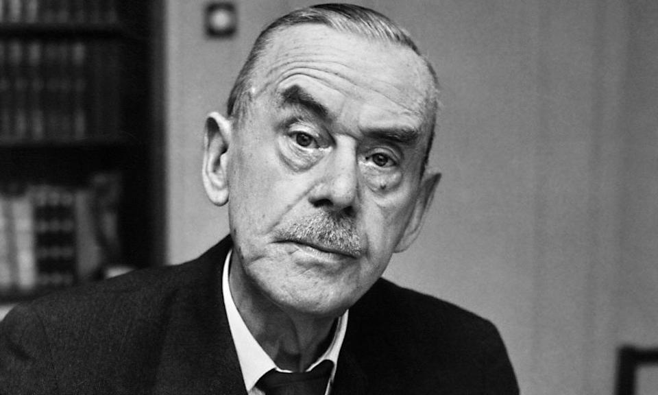Thomas Mann, author of The Magic Mountain, in Zurich in 1952.
