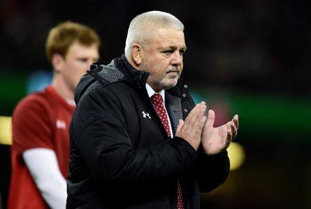 FILE PHOTO: Rugby Union - Six Nations Championship - Wales vs France - Principality Stadium, Cardiff, Britain - March 17, 2018 Wales head coach Warren Gatland before the match REUTERS/Rebecca Naden