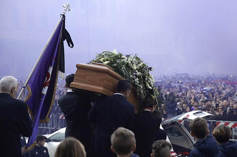 Thousands Gather in Florence for Footballer Astori's Funeral