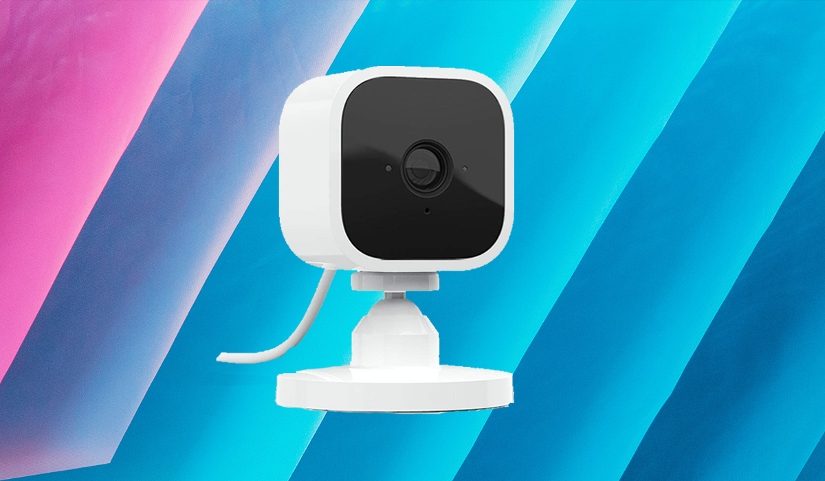 Home Safe Home: The Blink Mini security camera turns your domicile into your own private surveillance state. (Photo: Amazon)