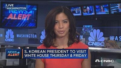 CNBC's Ylan Mui reports on Samsung's plan to open a new factory in South Carolina ahead of South Korea's new president first visit to the White House.