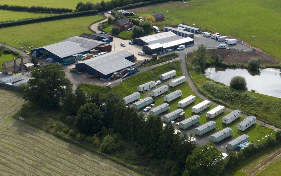 Three workers escape Herefordshire farm at centre of coronavirus outbreak