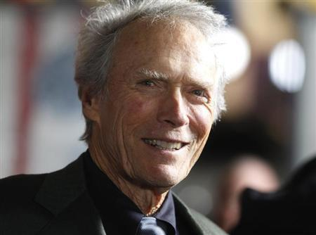 Director Clint Eastwood is interviewed at the opening night gala for AFI Fest 2011 in Hollywood