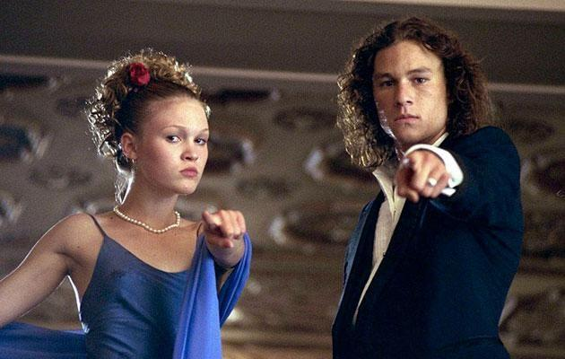 The pair starred in 10 Things I Hate About You. Source: Touchstone Pictures