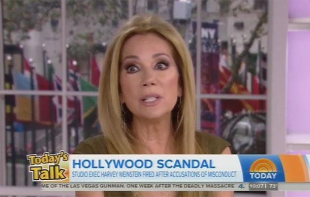 A clearly emotional Kathie said the incident left her feeling 'demeaned'. Source: NBC