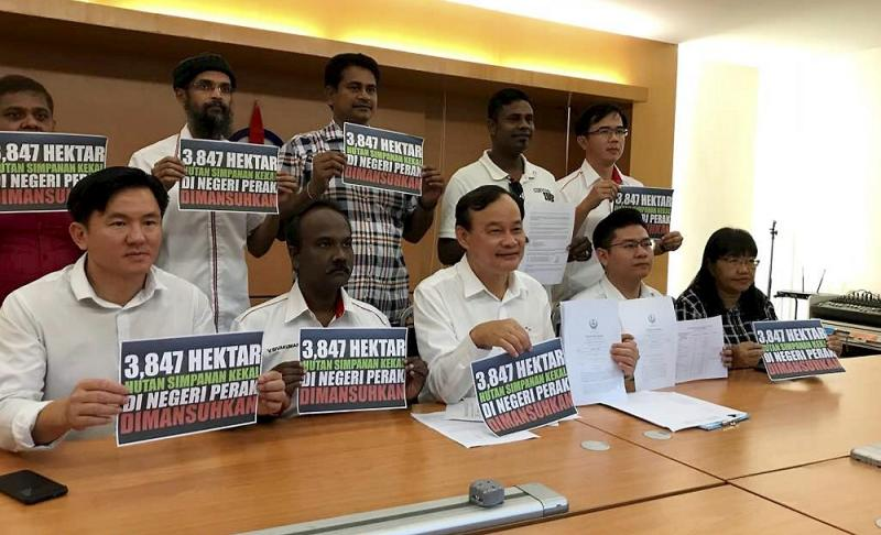 Some degazetted forest reserve land were for schools, Perak MCA says