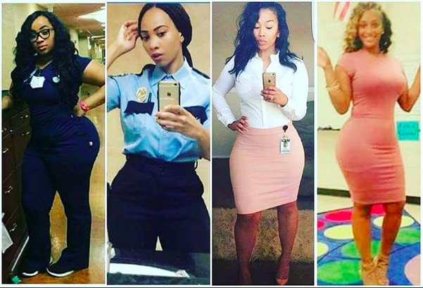 Click through the gallery to see the curvy professional baes.(Instagram/dream_chaser50)