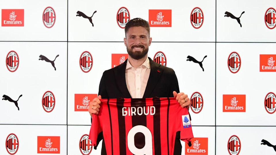 Olivier Giroud, nuovo attaccante del Milan | Pier Marco Tacca/Getty Images