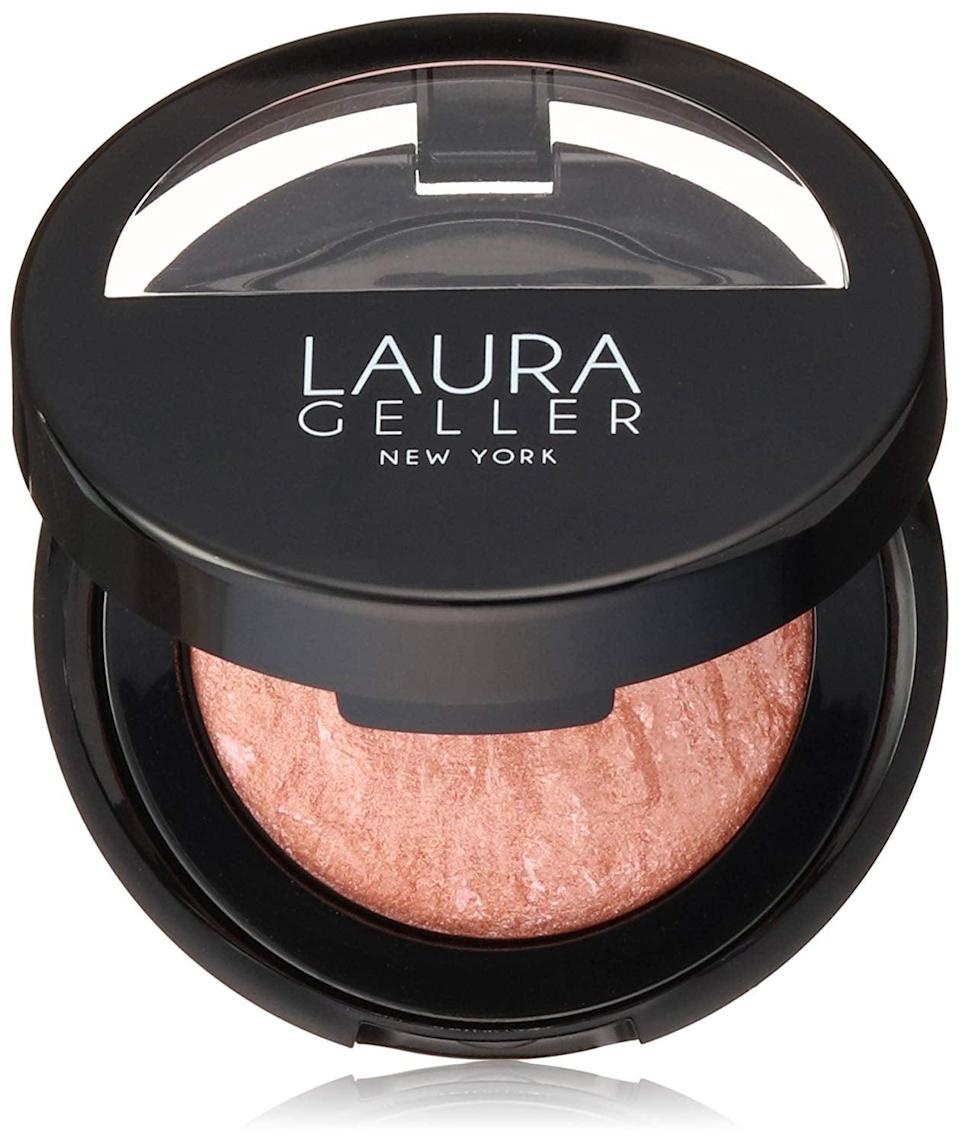 <p>For a glow, try <span>Laura Geller New York Baked Blush</span> ($29) - it's so blendable.</p>