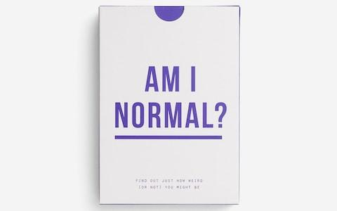 The School of Life Am I Normal? Cards  - Credit: Magma