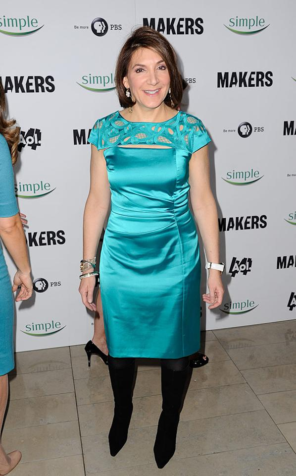 "Bonnie Fuller arrives at ""MAKERS: Women Who Make America"" New York Premiere at Alice Tully Hall on February 6, 2013 in New York City."