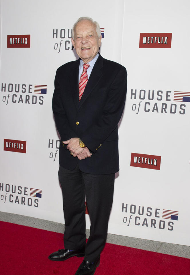 "Bob Schieffer attends Netflix's ""House of Cards"" Washington DC Screening at the NEWSEUM on January 29, 2013 in Washington, DC."