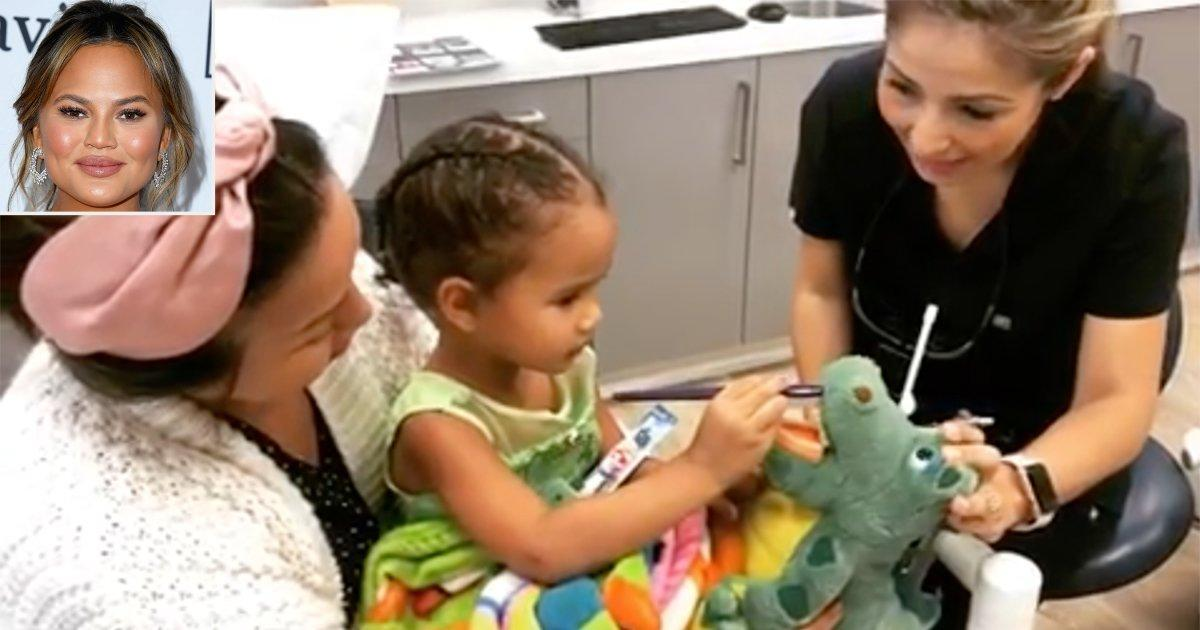 Chrissy Teigen Is Mom-Shamed Over Luna's First Visit to the Dentist: You  'Guys Never Fail Me'