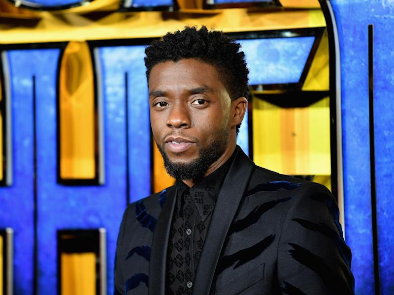 Boseman is best known for playing King T'Challa in the hit Marvel moviesGetty Images for Disney