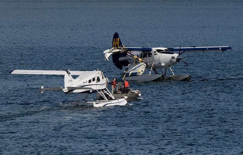 Attempted theft of seaplane ends with collision in Vancouver harbour
