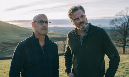 Supernova review –Colin Firth and Stanley Tucci dazzle as a couple facing their fears