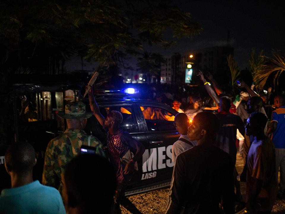 #EndSARS protesters have rallied against police brutality across NigeriaAFP via Getty