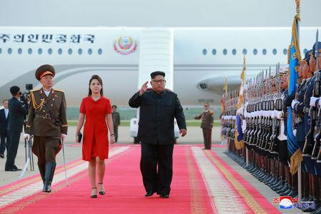 North Korean leader Kim Jong Un is seen during his visit in Beijing, China, in this undated photo released June 20, 2018 by North Korea's Korean Central News Agency. KCNA via REUTERS