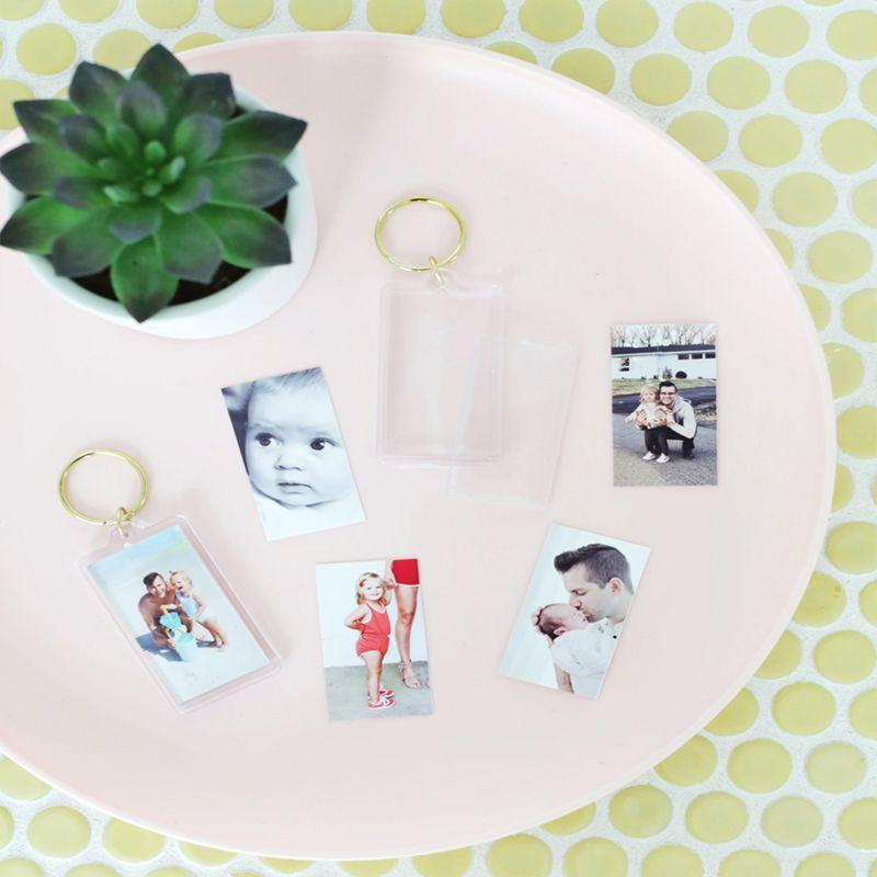 "<p>Dad will always have a piece of his family wherever he goes with these homemade photo keychains. </p><p><em>Get the tutorial at </em><em><a href=""https://abeautifulmess.com/2019/06/easy-photo-keychain-diy.html"" rel=""nofollow noopener"" target=""_blank"" data-ylk=""slk:A Beautiful Mess"" class=""link rapid-noclick-resp"">A Beautiful Mess</a></em><em>.</em><br><br><a class=""link rapid-noclick-resp"" href=""https://www.amazon.com/Acrylic-Photo-Keychain-Blanks-Inches/dp/B08CZHFXJ5/ref=sr_1_7?tag=syn-yahoo-20&ascsubtag=%5Bartid%7C10070.g.32697573%5Bsrc%7Cyahoo-us"" rel=""nofollow noopener"" target=""_blank"" data-ylk=""slk:SHOP PHOTO KEYCHAINS"">SHOP PHOTO KEYCHAINS</a></p>"