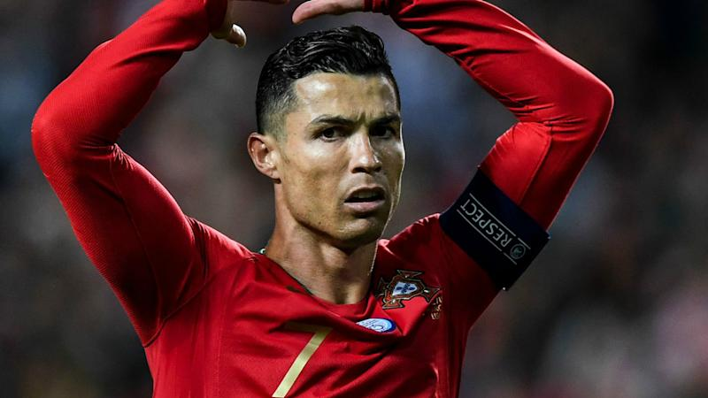 Cristiano Ronaldo suffers injury in Portugal's Euro 2020 qualifier against Serbia