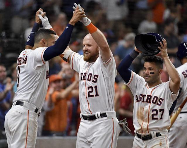 Are the Astros the best team in baseball? (AP Photo)
