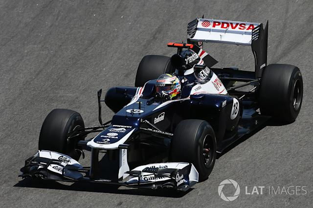 "2012: Williams-Renault FW34 <span class=""copyright"">Sutton Images</span>"