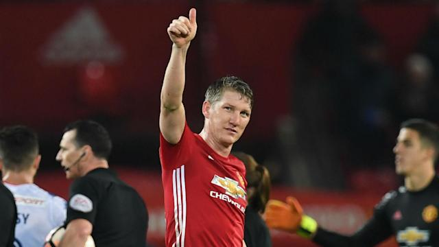 With Manchester United focused on playing Middlesbrough, Bastian Schweinsteiger says he did not get to speak to the team before leaving.