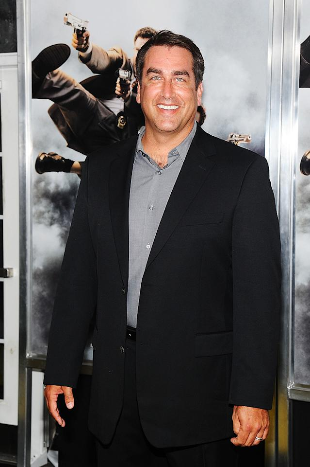"""<a href=""""http://movies.yahoo.com/movie/contributor/1808870276"""">Rob Riggle</a> at the New York City premiere of <a href=""""http://movies.yahoo.com/movie/1810116447/info"""">The Other Guys</a> - 08/02/2010"""