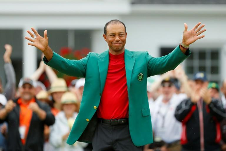 Tiger Woods, celebrating his 15th major title at the 2019 Masters, has been among the world's most famous athletes for the past 25 years