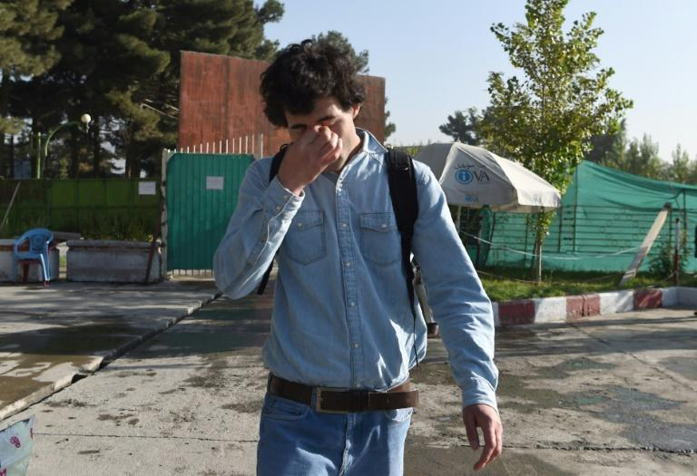 An Afghan refugee deported from Germany arrives at Kabul airport