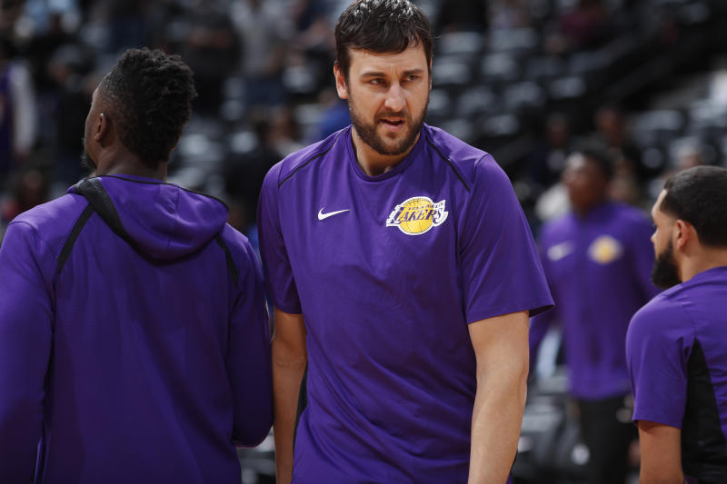 Lakers release Andrew Bogut before his contract becomes guaranteed