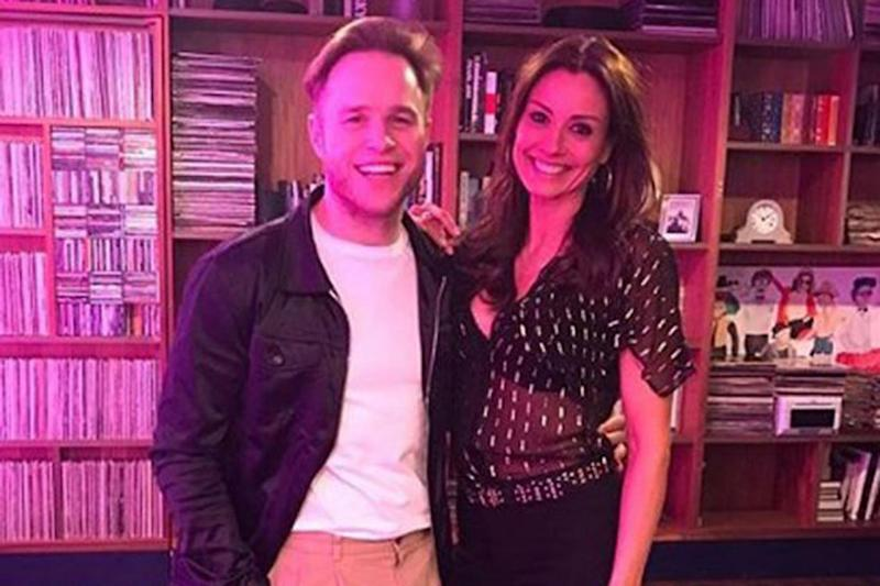 Loved up? Olly Murs and Melanie Sykes (@msmelaniesykes)
