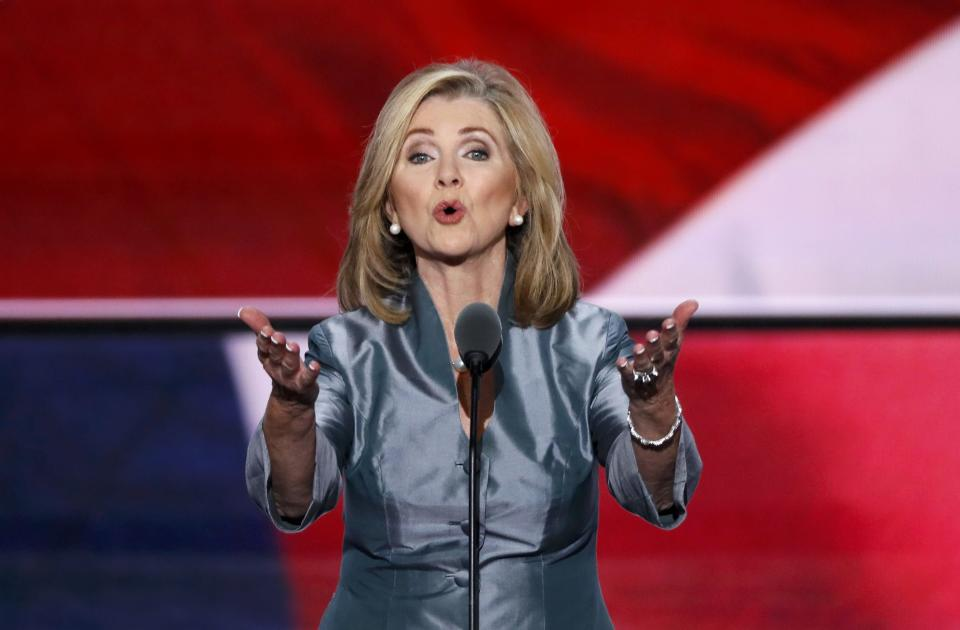 Representative Marsha Blackburn (R-TN), pictured here, has introduced an internet privacy bill that's not likely to pass. REUTERS/Mike Segar