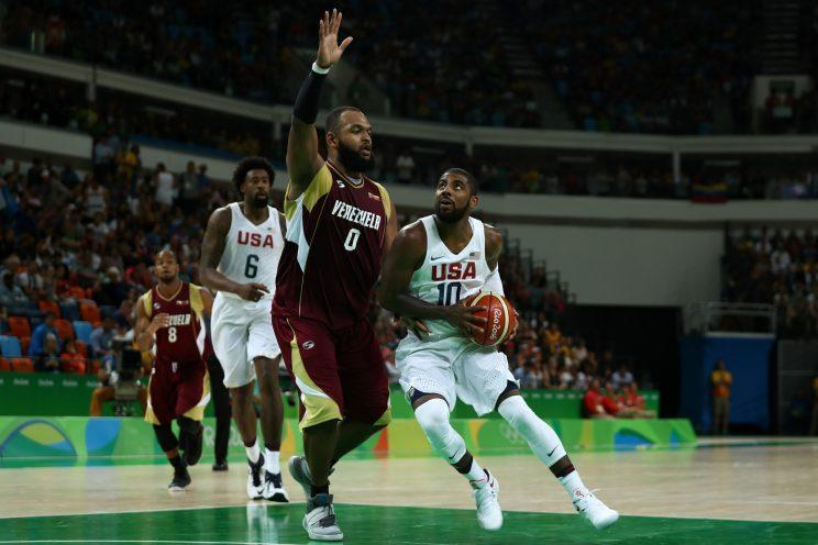Irving almost played for the Australian national team. (Getty)