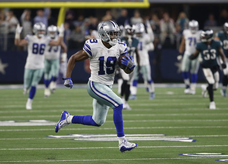 77ff61596 Week 14 fantasy review: Cowboys win Amari Cooper trade