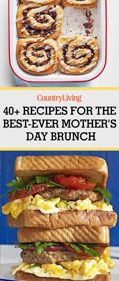 50 Best Ever Mothers Day Brunch Recipes